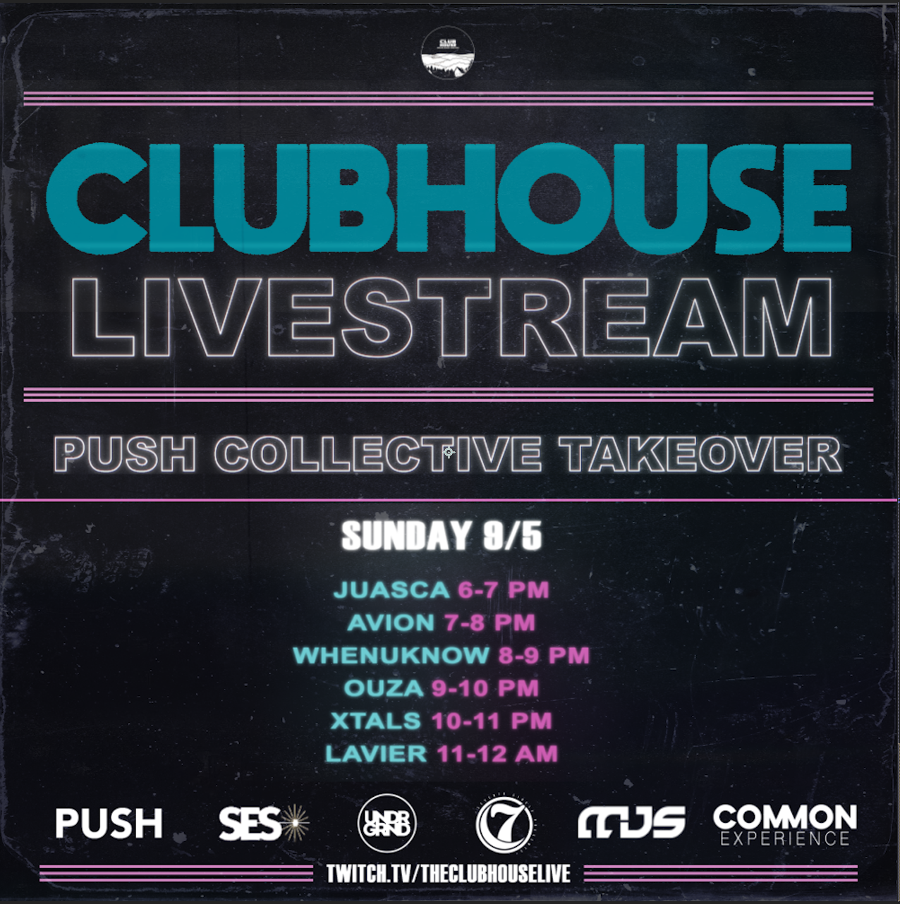 STILL SQUARE Push Collective Takeover Set Times